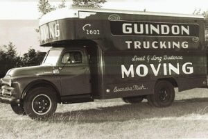 Guindon Moving & Storage truck