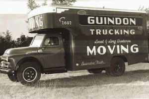 The Renowned Moving Truck from Guindon Moving & Storage