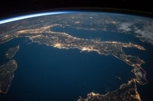 Italy from space