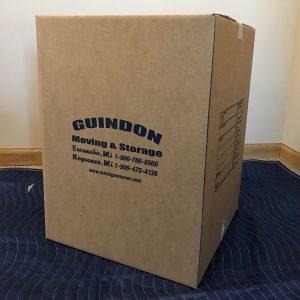 Large (4.5 cubic feet), size 18 x 18 x 24 - - $3.00/ctn or (6.0 cubic feet), size 23 x 23 x 20 - $4.00/ctn