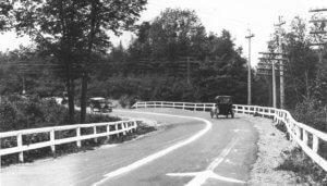 Dead Man's Curve on Marquette–Negaunee Road