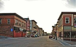 Sheldon Avenue in Historic Downtown Houghton, MI