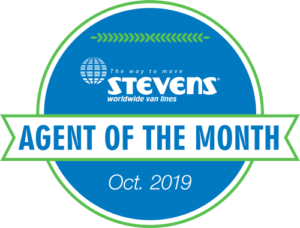 Stevens Agent of the Month - OCT